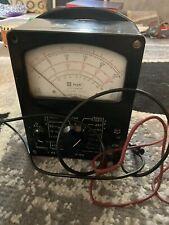 New Listingused Knight Vacuum Tube Voltmeter Vtvm With Test Leads