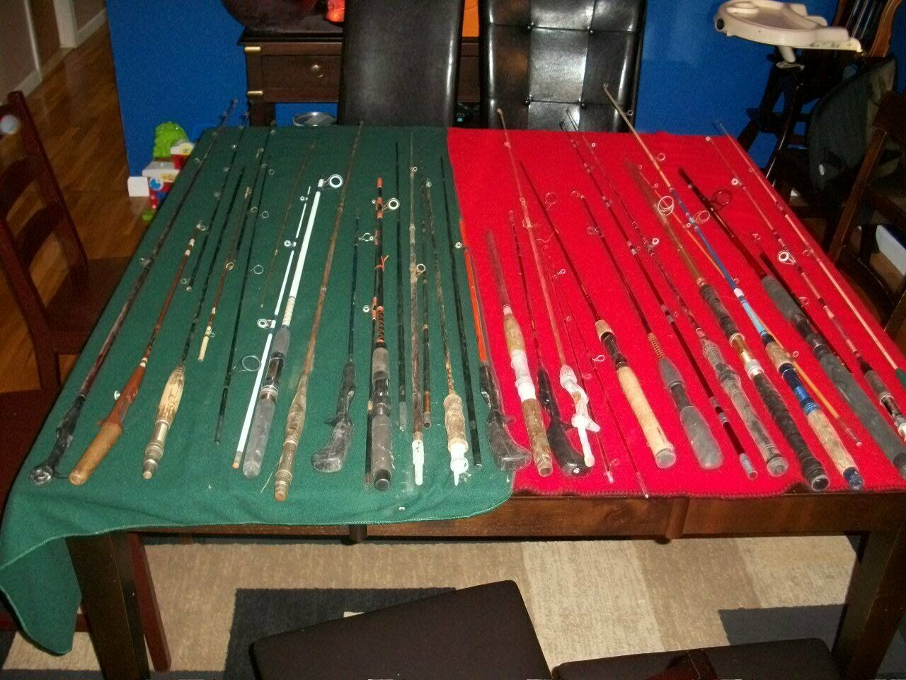 Casting Spinning Fly Fishing Rod Parts  Huge Lot  novelty items