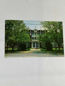 Vintage-LANCASTER-PENNSYLVANIA-CATHOLIC-HIGH-SCHOOL-Color-Photo-Postcard-1950s