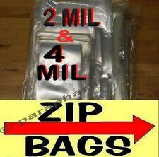 Clear Zip Lock Reclosable Bags 2 Mil Amp 4 Mil Heavy Duty Plastic Zipper Seal Bags