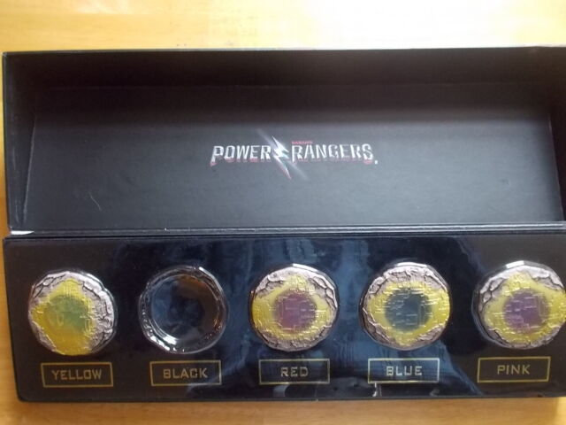 "Fall 17 Release Toys /"" Games Power Ranger Legacy Ninjetti Coin Set"