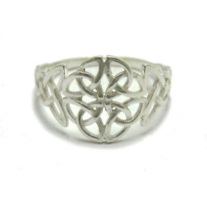 Liberal Filigraner Sterling Silber Celtic Ring Massiv 925 R001778 Empress Professionelles Design Ringe Edelmetall Ohne Steine