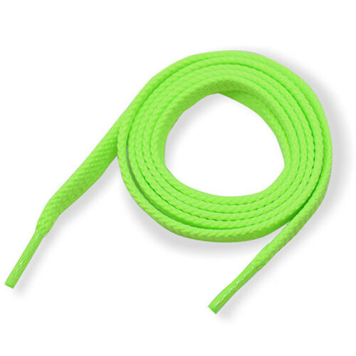 Shoelaces Colorful Coloured Flat Round Bootlace Sneaker Shoe Laces Strings 1Pair