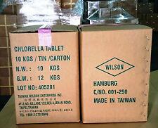 Pyrenoidosa Chlorella tablet bulk pack(10 Kg): Made in Taiwan Must Buy!