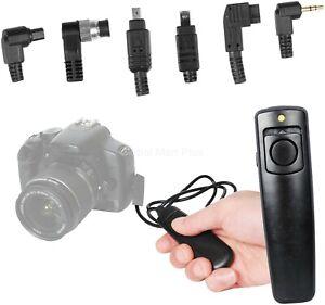 Remote-Shutter-150-ft-Universal-Wireless-C1-C2-C3-C4-C5-C6-Adaptors-Bower-RCWUNI