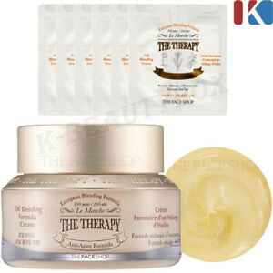 THE-FACE-SHOP-The-Therapy-Oil-Blending-Formula-Cream-Anti-Aging-Skin-Care