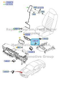 new oem air bag system seat position sensor 2010 13 ford Air Pressure Switch Diagram