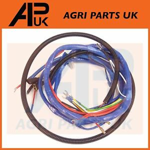 s l300 fordson major tractor wiring harness loom 4 cyl diesel see wiring Agri Supply Online at pacquiaovsvargaslive.co