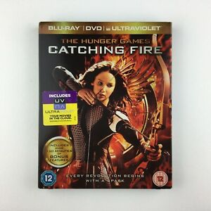 The Hunger Games: Catching Fire (Blu-ray and DVD Combo, 2013, 2-Disc Set) s