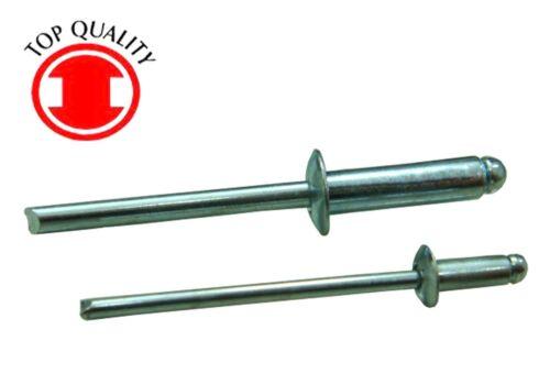 Steel/Steel Blind Pop Rivet - 3/16X0.400 - 80pcs
