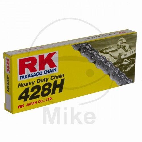 RK Motorrad Standard Kette 428 H 132 Glieder Offen + Clipschloss