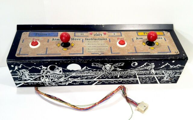Details about Vintage 1981 Wizard Of War Joystick Control Panel Arcade Game  Parts Or Repair