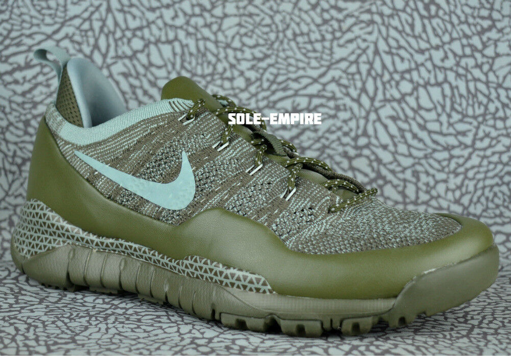 Nike Lupinek Flyknit Low 882685-300 Cargo Khaki Mica Green Mens NEW IN BOX Comfortable and good-looking