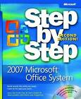 2007 Microsoft Office System Step by Step by Joan Preppernau, Steve Lambert, Curtis Frye, Joyce Cox (Mixed media product, 2008)