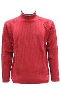 migliori scarpe da ginnastica dce49 98717 Dettagli su Maglione da uomo bordeaux Quiksilver mezzo collo manica lunga  casual lana moda