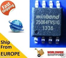 WINDBOND W25Q64FVSIG 25Q64, 64M-BIT FLASH 8M X 8 SPI BUS SERIAL EEPROM BIOS CHIP