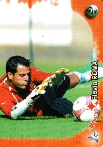 MONACO DERBY TOTAL 2006 // 2007 CARTE PANINI FOOT a choisir