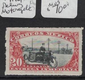 Mexico Special Delivery Motorcycle SC E1 MOG (3dqa)