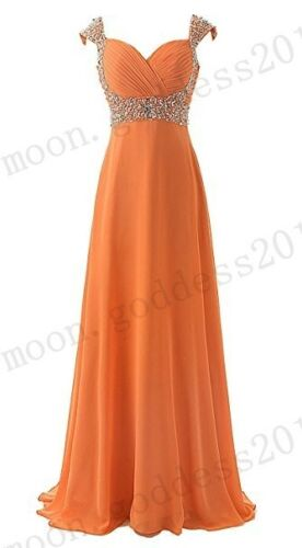 New Formal Long Evening Ball Gown Party Prom Bridesmaid Dress Stock Size 6-26