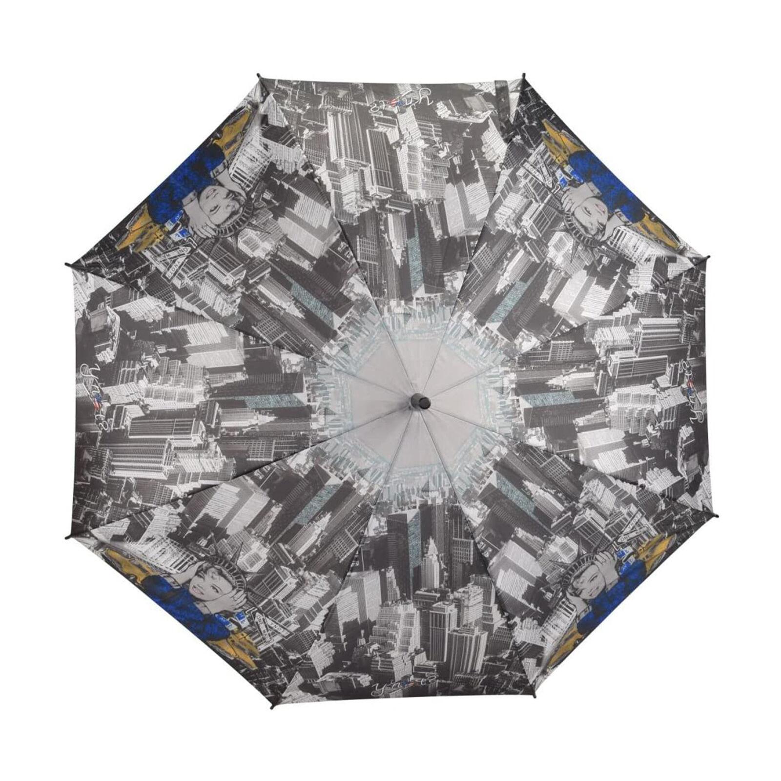 ? no y diseño fantástico larga AC Marilyn paraguas