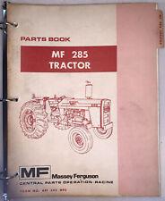 Massey Ferguson Mf 285 Tractor Parts Book