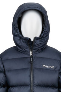 3ca40c8f7a60 Image is loading Marmot-Boy-039-s-Guides-Down-Hoody-Puffer-