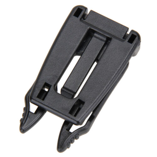 5 Pcs Molle Strap EDC Outdoor Backpack Bag Webbing Connecting Buckle Clip  Set