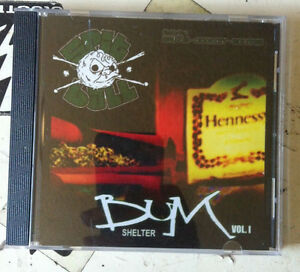 DJ PRZM spitball bum shelter vol. 1 cd new