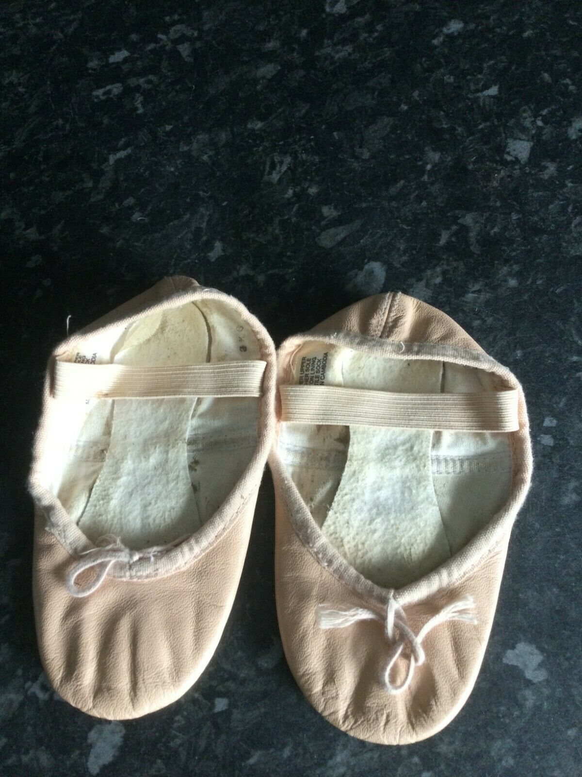 Bloch ballet shoes size 9.5b wedding Christening dance show leather