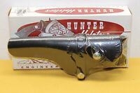 Hunter Black Leather Left-hand Holster Style No. 1100 Size 24 4.75 Autos Closed