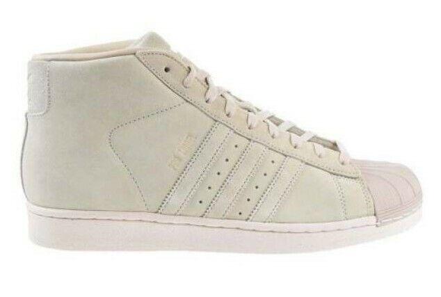 Adidas Original Men's PRO MODEL shoes NEW AUTHENTIC Beige BZ0213