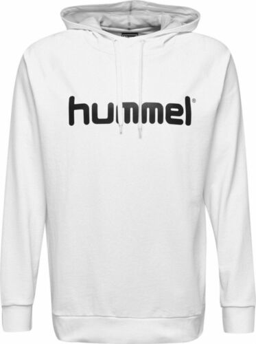 Details about  /Hummel Mens Sport Training Casual Hoodie Hooded Sweatshirt Tracksuit Top White
