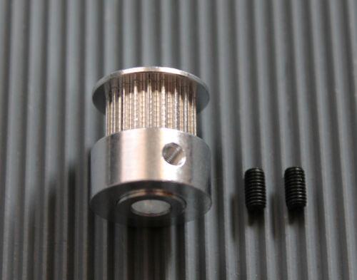 Gt2 pulley engranaje 20 dientes//orificio 5mm//fur correa ancho 6mm Prusa Mendel CNC