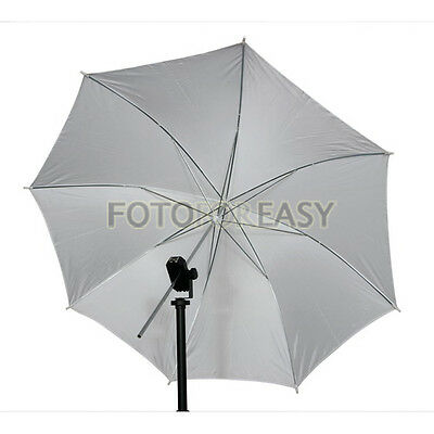 "33"" 83cm Studio Flash Soft Translucent White Umbrella"