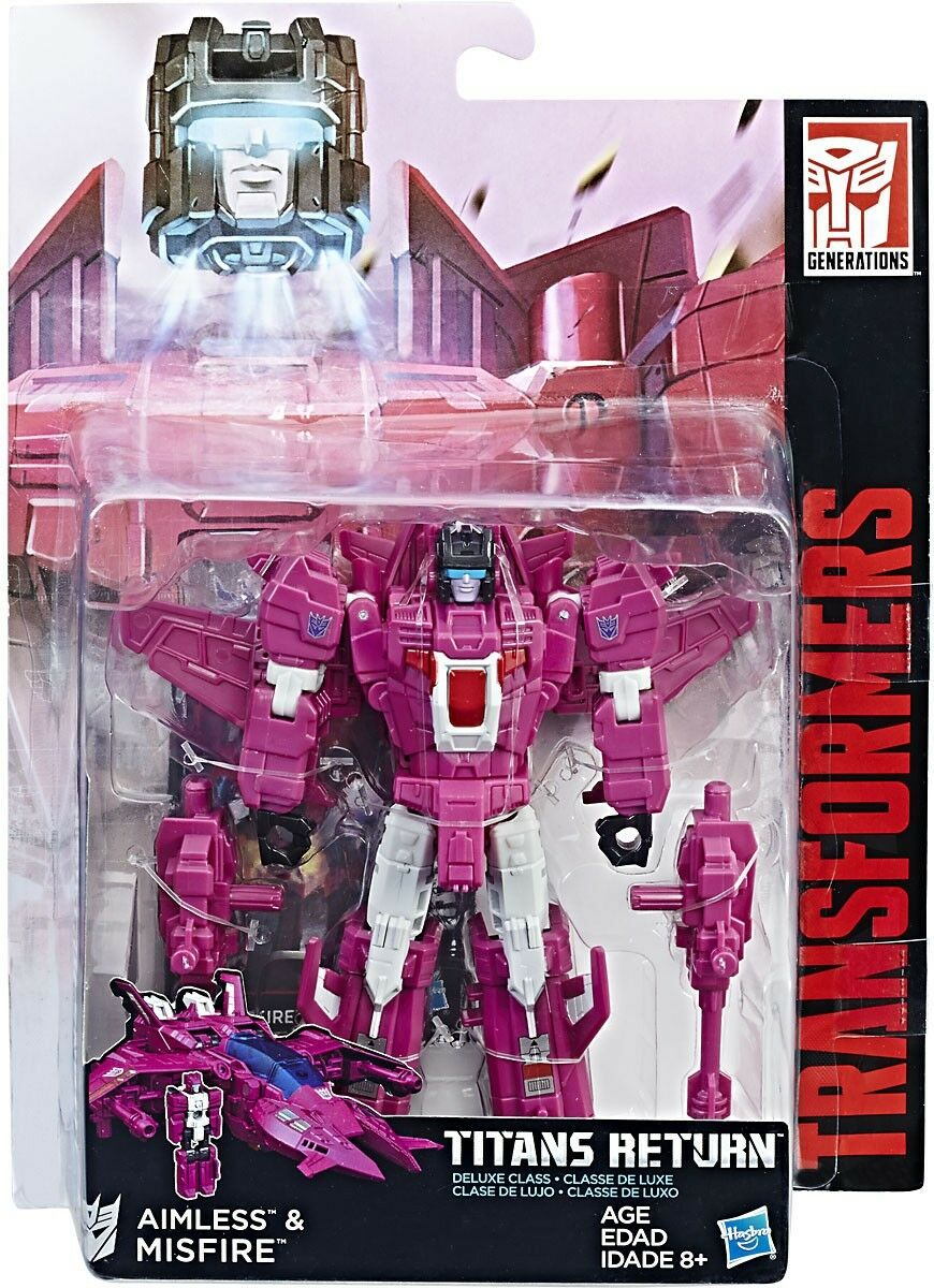 Transformers Generations Titans Return Misfire & Aimless Deluxe Action Figure