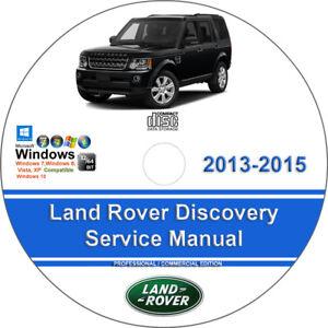 Land rover discovery full service repair manual manuals array land rover discovery 2013 2014 2015 factory workshop service repair rh ebay com fandeluxe Gallery