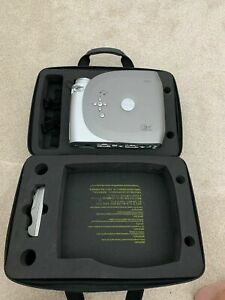 Dell 1200MP DLP Video Projectorall leads still in case + remote  barely used