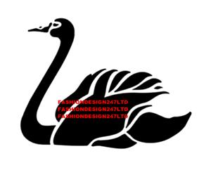 BIRDS FLAMINGO SWAN MYLAR STENCIL HOME DECOR PAINTING WALL ART 125//190 MICRON