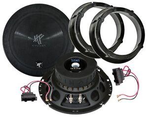 Hifonics WR 165mm Compo Lautsprecher für Fiat Stilo Tür