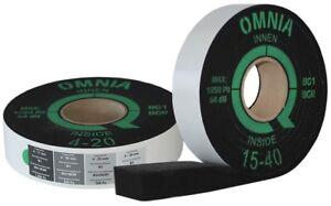 greenteQ Fensterdichtband OMNIA BG1 Kompriband für Innen und Außen Abdichtung