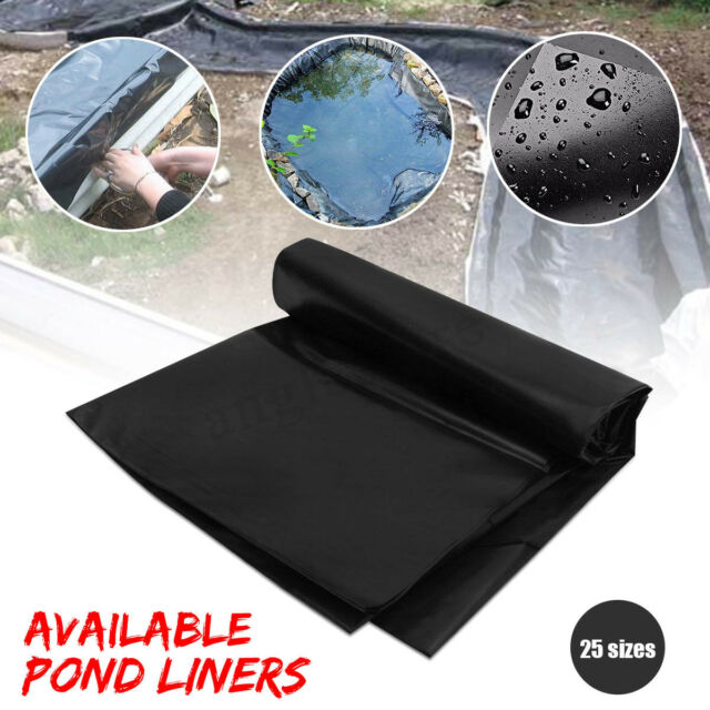 Durable Fish Pond Liner Gardens Pools PVC Membrane Reinforced Landscaping  NEW