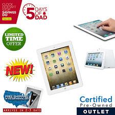 New iPad 2 32GB White WiFi  +3G Verizon with 1 Year Warranty