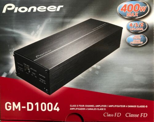 GM-D1004-400W 4-Channel GM Digital Series Class FD Amplifier Pioneer