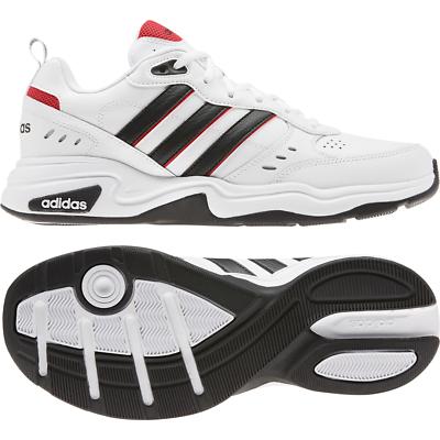 Adidas Männer Schuhe Strutter Sneaker Lifestyle Fashion Weiß Leder Grob eg2655 | eBay
