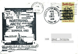 6 x Polarpost USA 1983 II