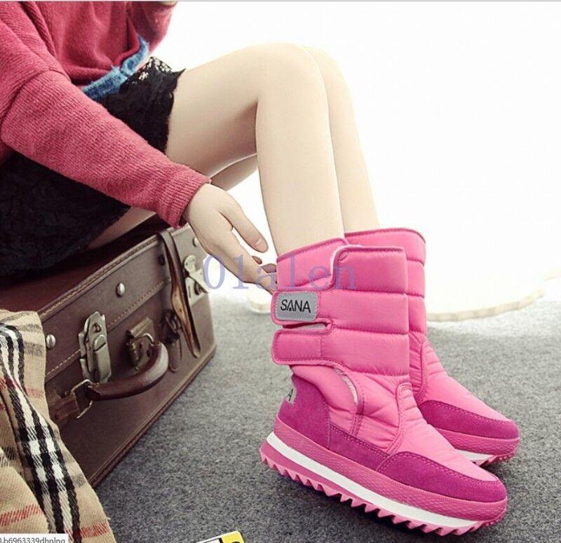 Women Waterproof Platform Snow Joggers Winter Casual Winter Warm Boot Warm