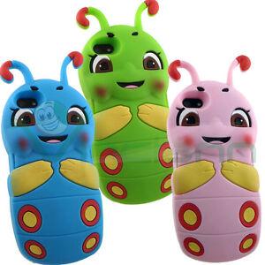 Custodia-silicone-BRUCO-FELICE-per-iPhone-SE-5-5S-cover-morbida-case-flessibile