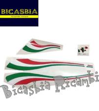 7114 - KIT ADESIVI COFANI ITALIA VESPA 125 150 200 PX - ARCOBALENO - A DISCO