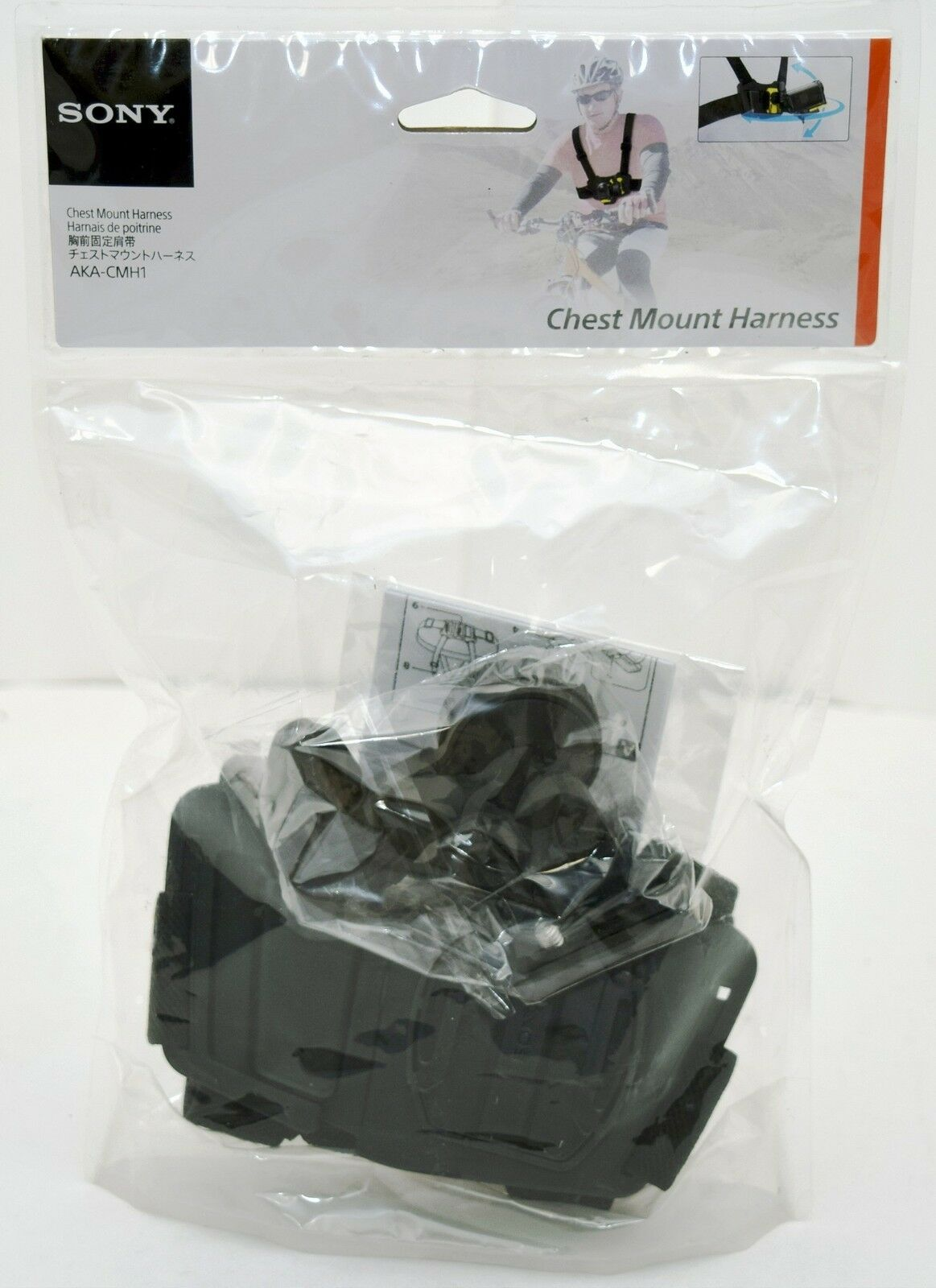 NEW GENUINE Sony AKA-CMH1 Chest Mount Harness for Action Cam