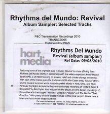 (DE7) Rhythms Del Mundo, Revival - 2010 DJ CD